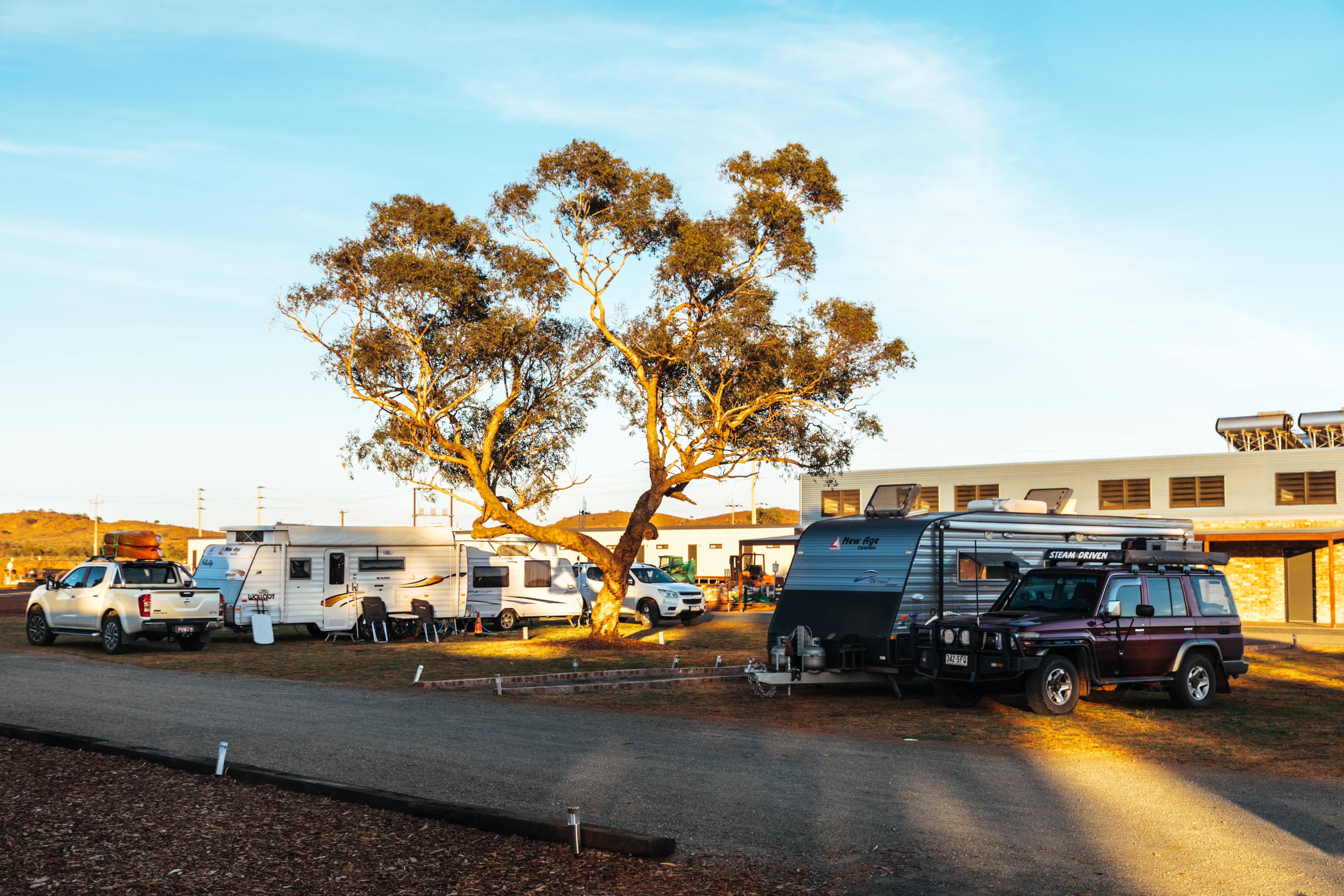 broken hill caravan park