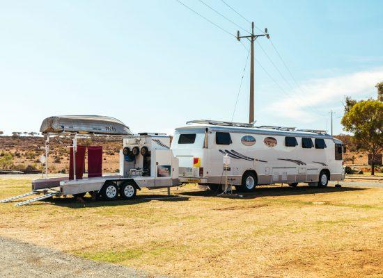 caravan parks broken hill
